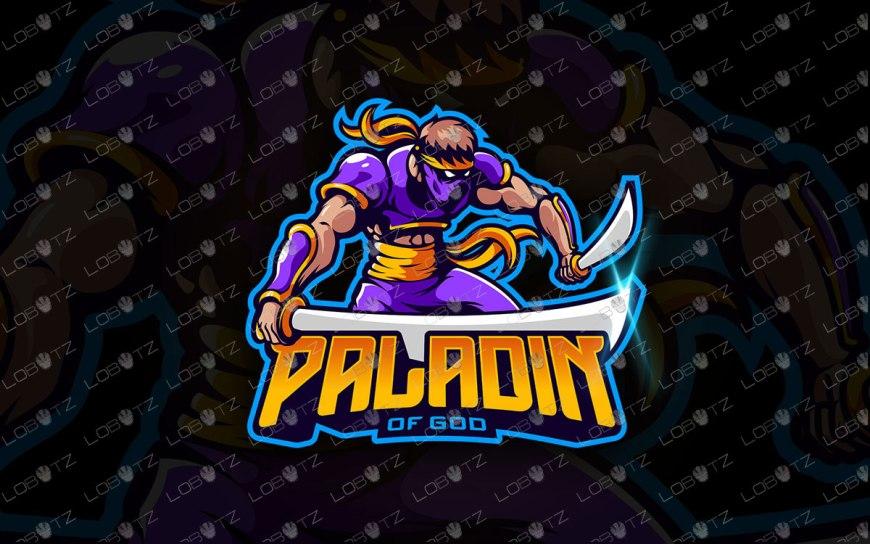 Assassin Mascot Logo | Ninja eSports Logo | Ninja Mascot Logo