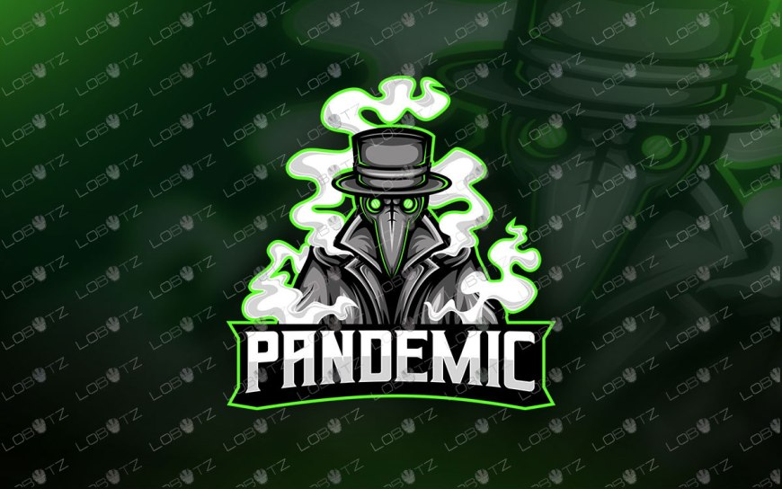Plague Doctor Mascot Logo For Sale | Plague Doctor eSports Logo