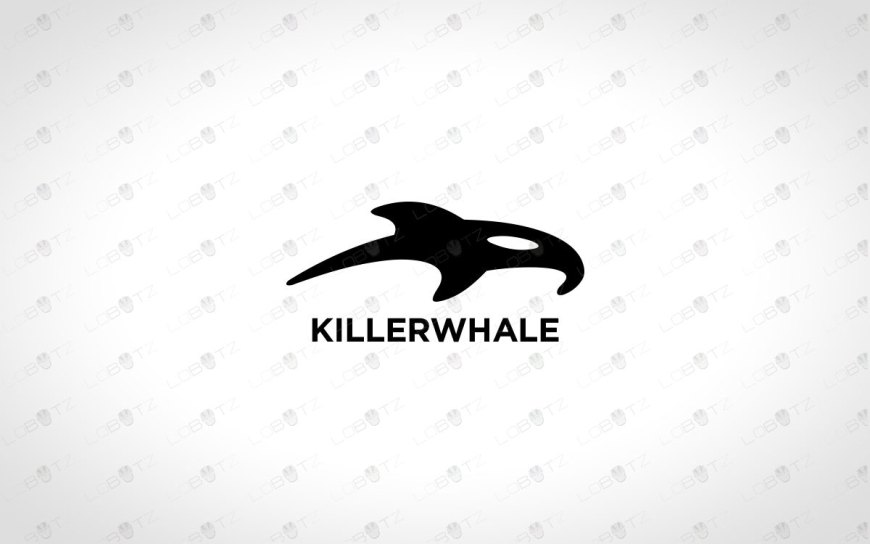 Creative Killer Whale Logo For Sale Modern Whale Logo