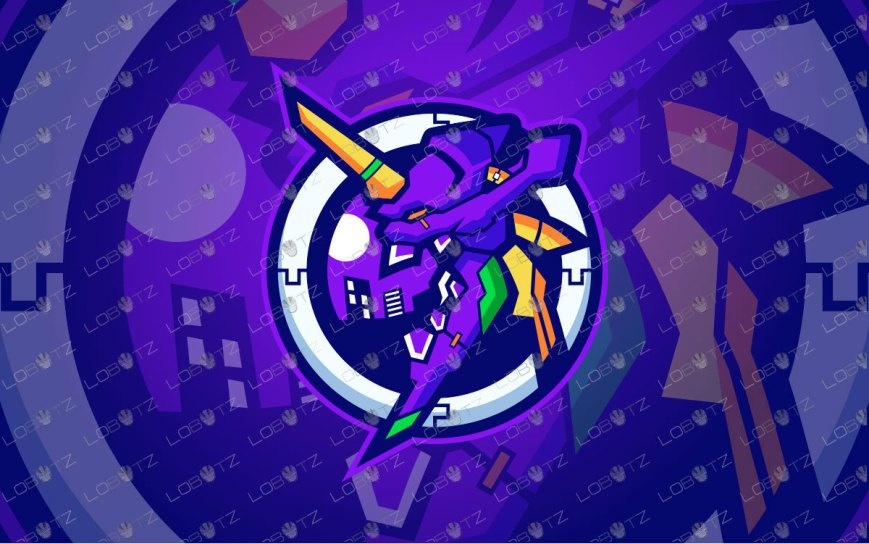 Premade Mascot Logo | Zeronic Mascot Logo For Sale