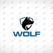 ReadyMade Wolf Logo For Sale | Premade Wolf Logo