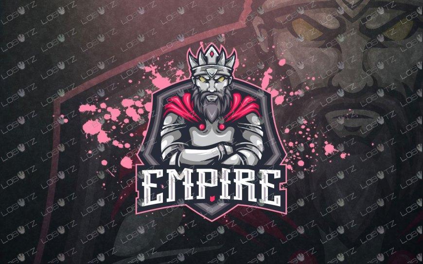 Gaming Logo | Premade King Mascot Logo