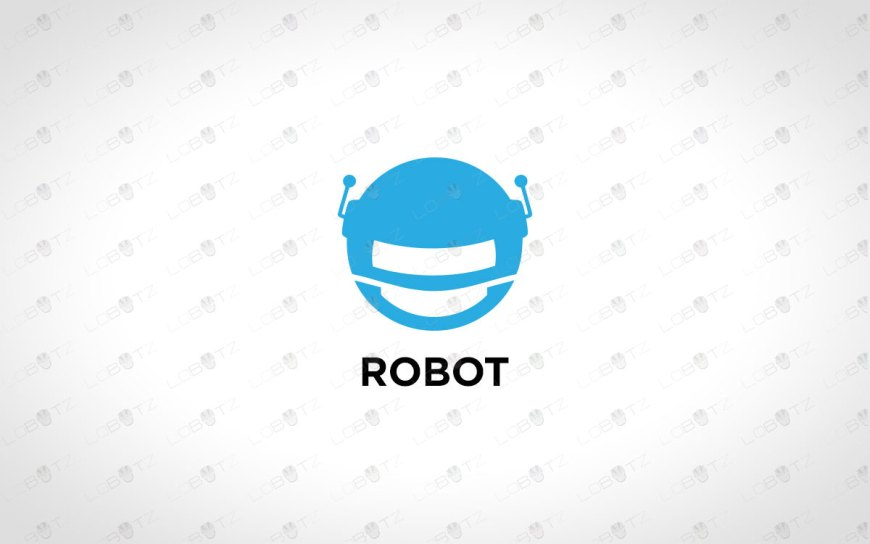 Modern Robot Head Logo For Sale Premade Logo