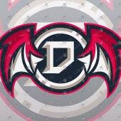 Letter D Mascot Logo For Sale   Clan Logo   Team Logo