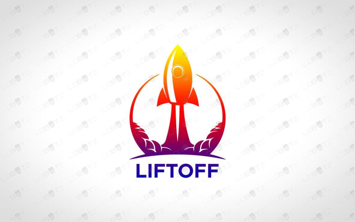 Rocket Logo   Modern & Trendy Rocket Logo For Sale