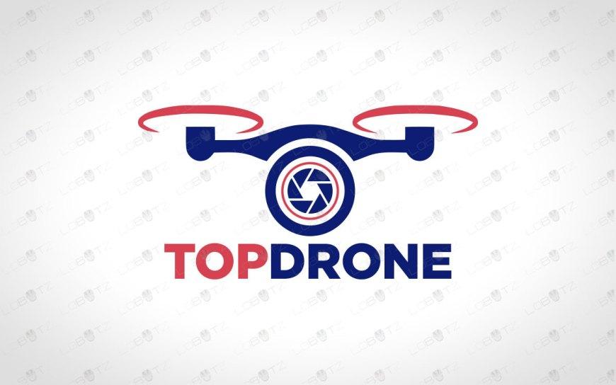 Premade Drone Logo To Buy Online | Modern Drone Logo