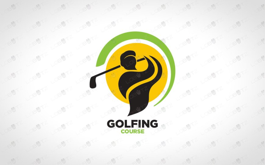 Modern & Professional Golf Logo For Sale