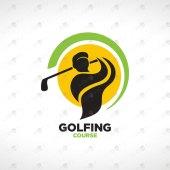 Modern & Professional Golf Logo For Sale