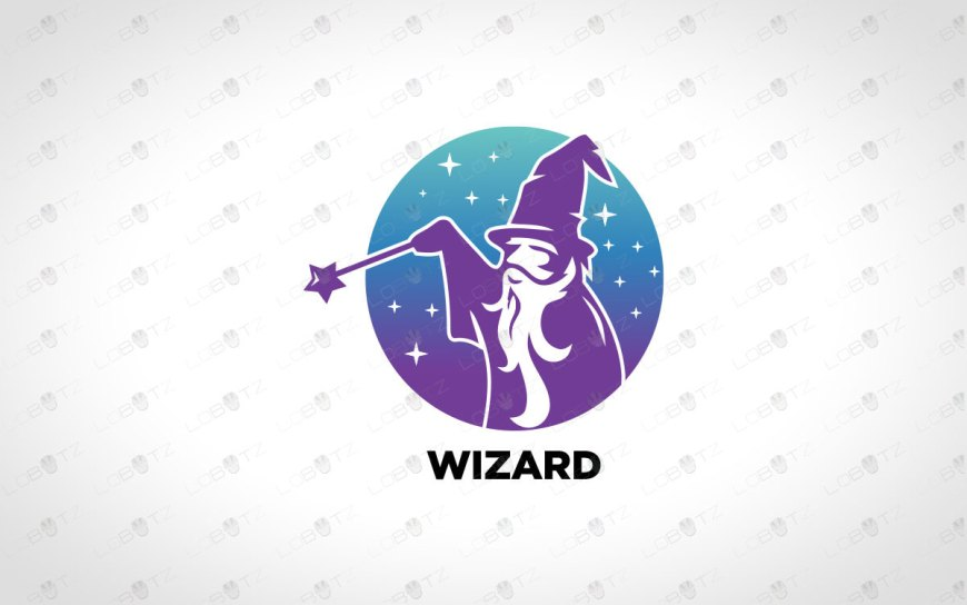 Creative & Modern Wizard Logo For Sale