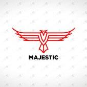 Majestic Eagle Logo | Eagle Head Logo For Sale