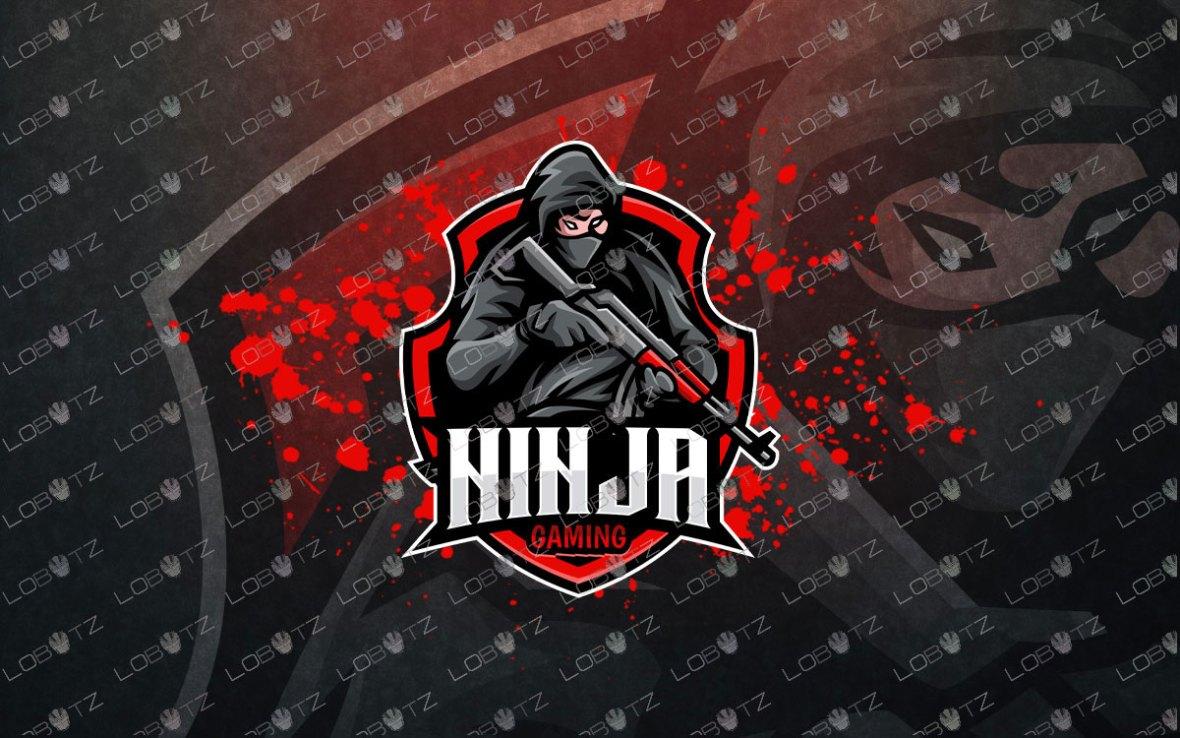 Soldier Ninja Logo   Ninja ESports Logo   Ninja Mascot Logo