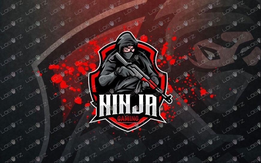 Soldier Ninja Logo | Ninja ESports Logo | Ninja Mascot Logo