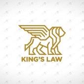 Premade Lion Logo | Majestic King Lion Logo For Sale