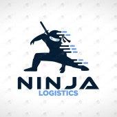 Premade Ninja Logo For Sale Stylish Ninja Logo
