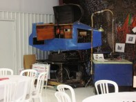 One of our treasures, the Link trainer