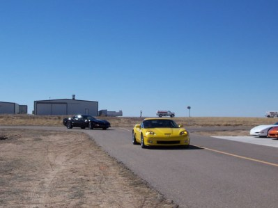The Corvettes on short final