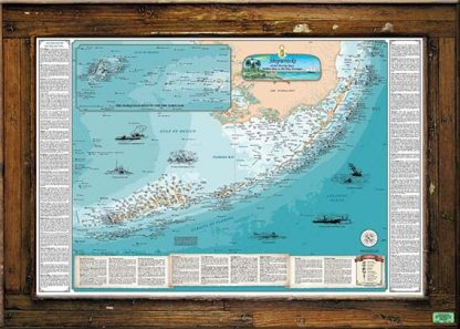 """Shipwrecks Of The Florida Keys"" Large"
