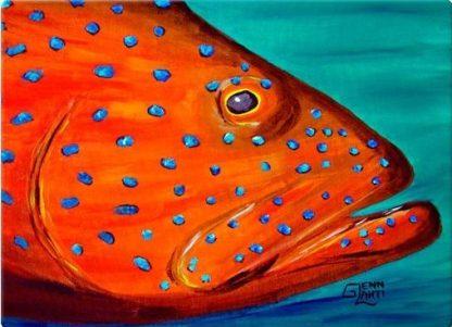 """Coral Grouper"""