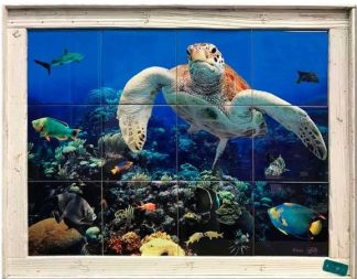 "18""x24"" Tile Mural Single Slat $329"