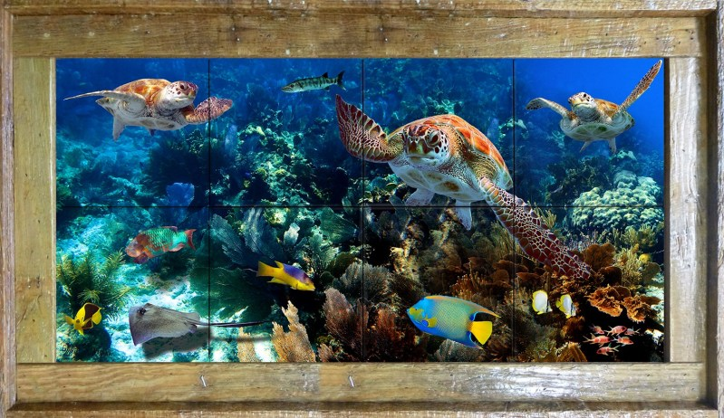 Reef Rendezvous Tile Mural