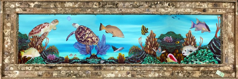 Reef Roamers Giclee on Canvas