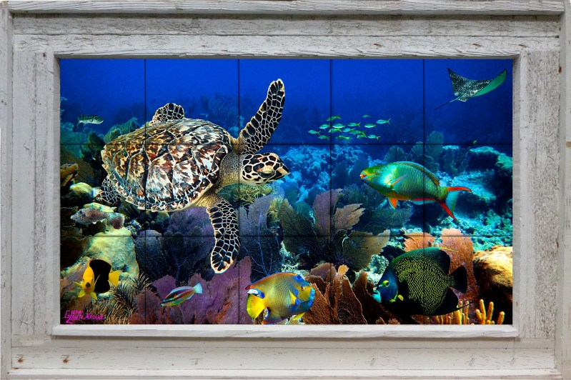 Fandango Reef Tile Mural