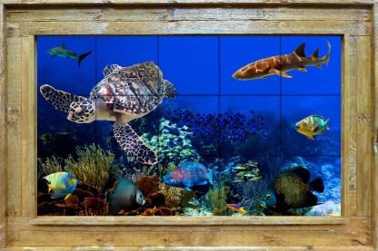 Carysfort Reef Tile Mural