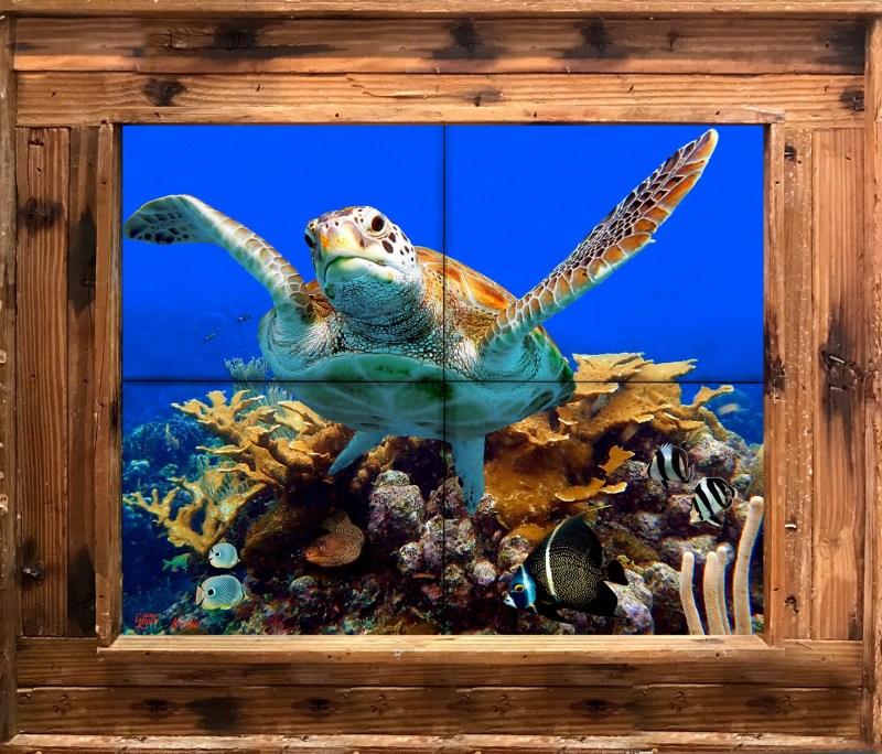 Coral Ridge Tile Mural