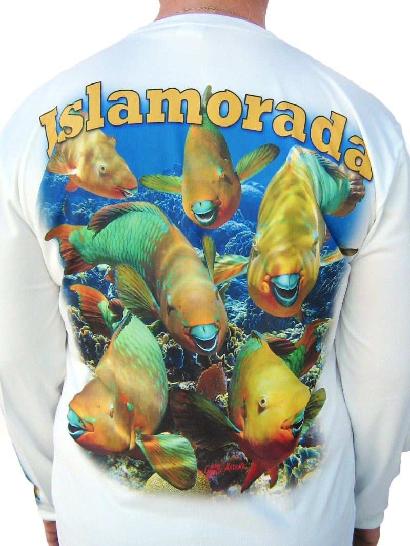 Parrotfish Long Sleeve Shirt