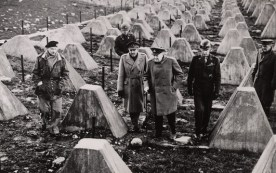 Image: Churchill on the Siegfried Line, 1945