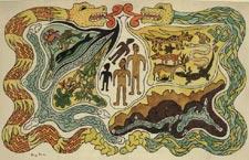 The Creation [Illustration for Popol Vuh]