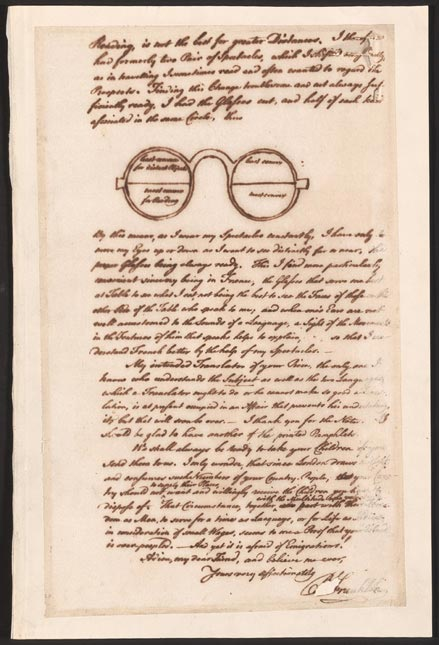1785 Letter from Benjamin Franklin to George Whatley