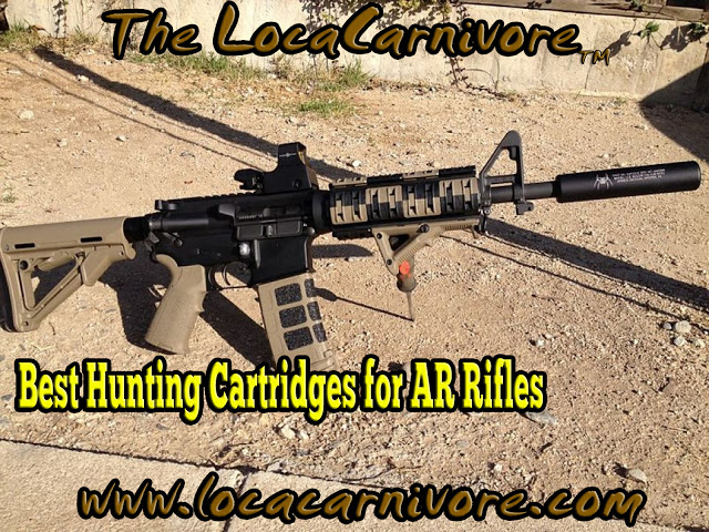LocaCarnivore Expert:  Best Hunting Cartridges for AR Rifles