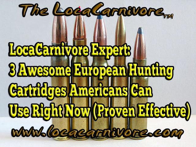 LocaCarnivore Expert: 3 Awesome European Hunting Cartridges Americans Can Use Right Now