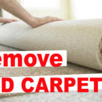 How to Remove Old Carpet (EASY WAY)