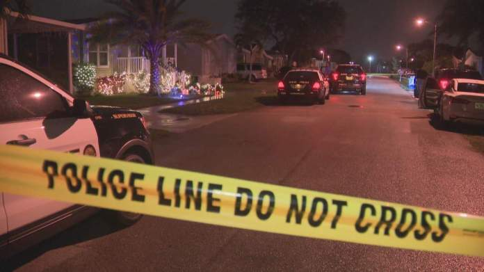 Davie police investigate an accidental shooting involving an officer on Southwest 116th Way.