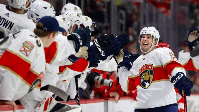 Florida Panthers players have fun selecting individual goal songs