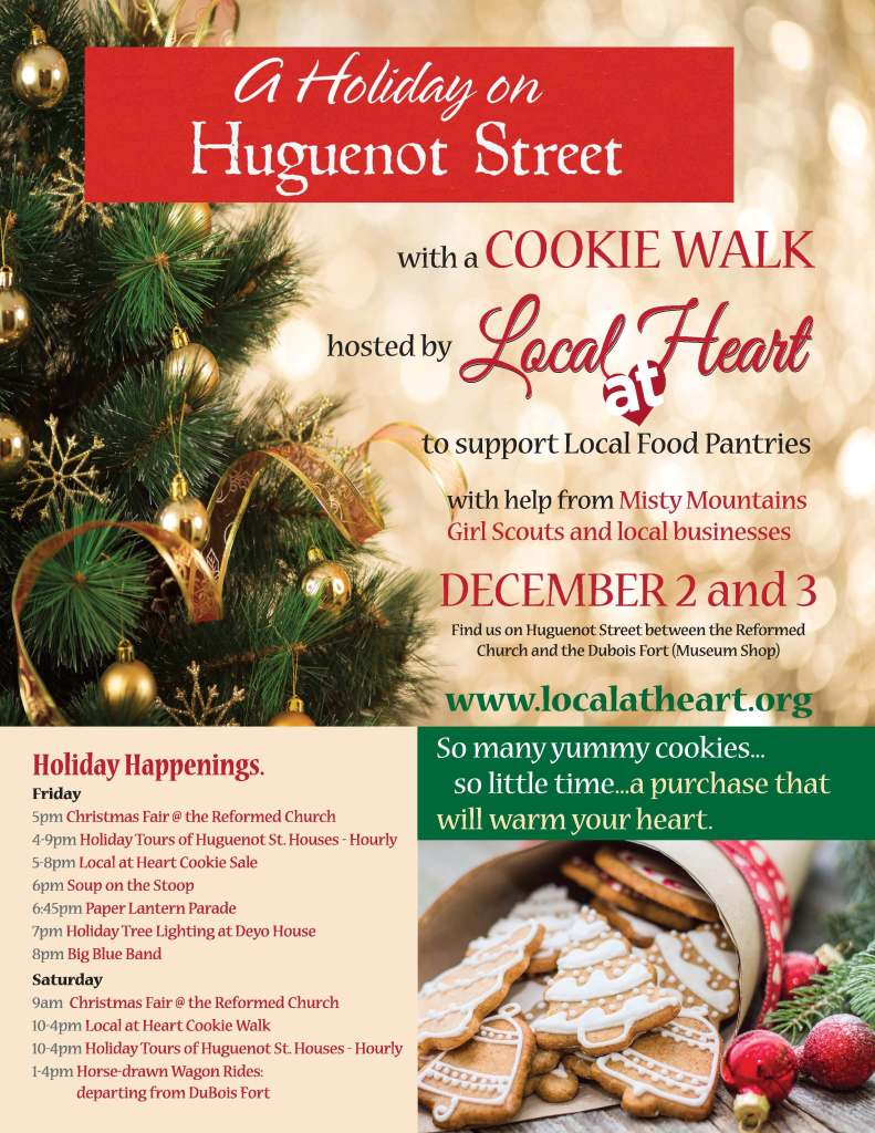 2016 Cookie Walk Flyer