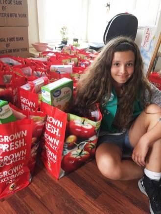 Prepared food gift bags