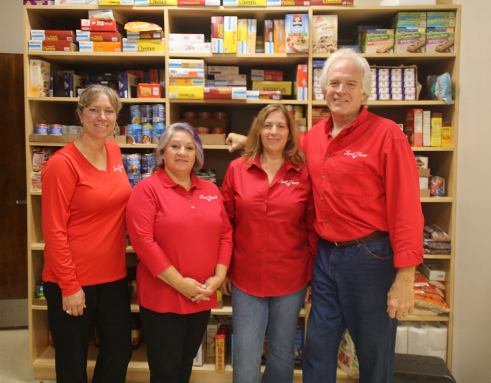 Localat Heart Board Members at St. Joseph's food pantry