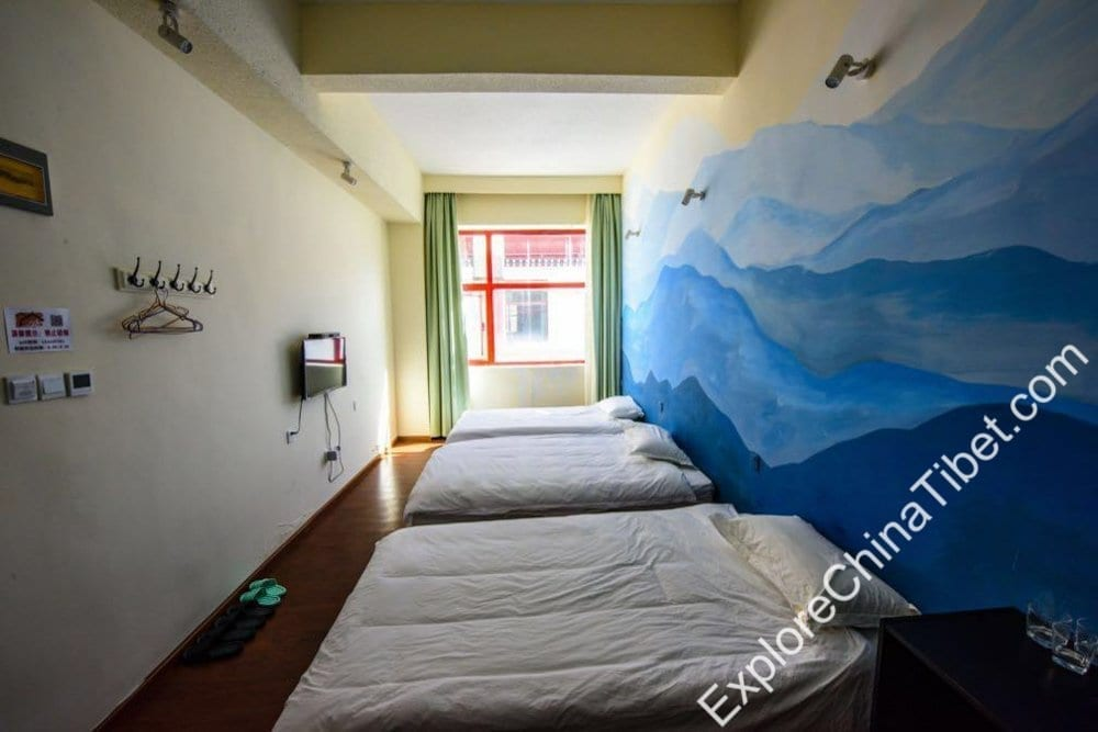 Lhasa 21 Boutique Hotel Comfort Triple Room with Shower