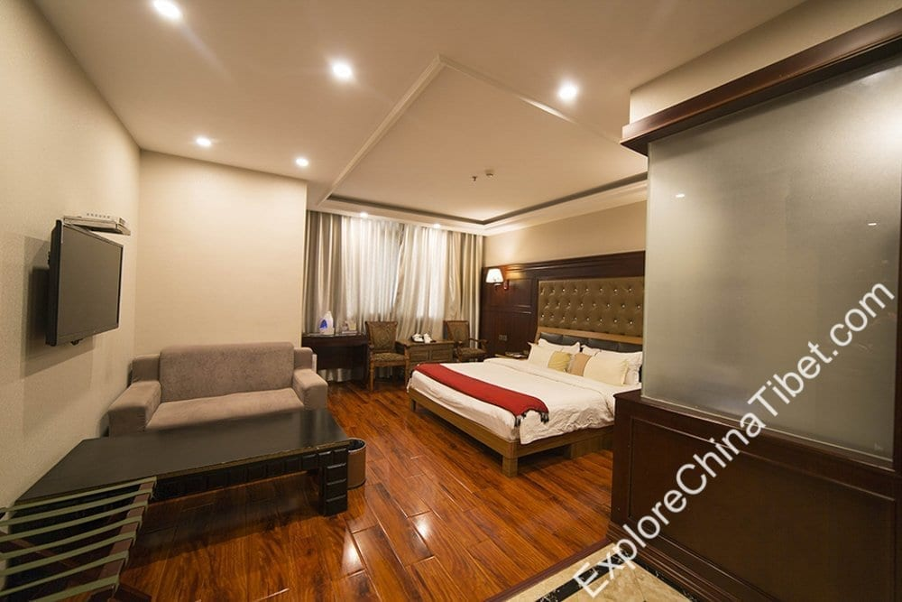 Lhasa Snow Heaven Hotel Deluxe Single Room