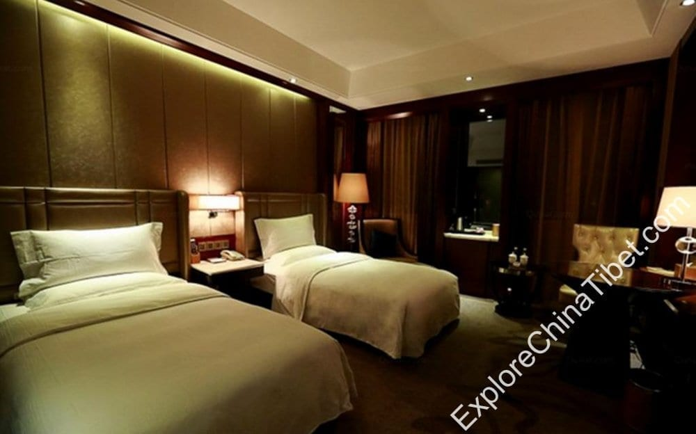 Tibet Minshan Hotel Business Twin Room