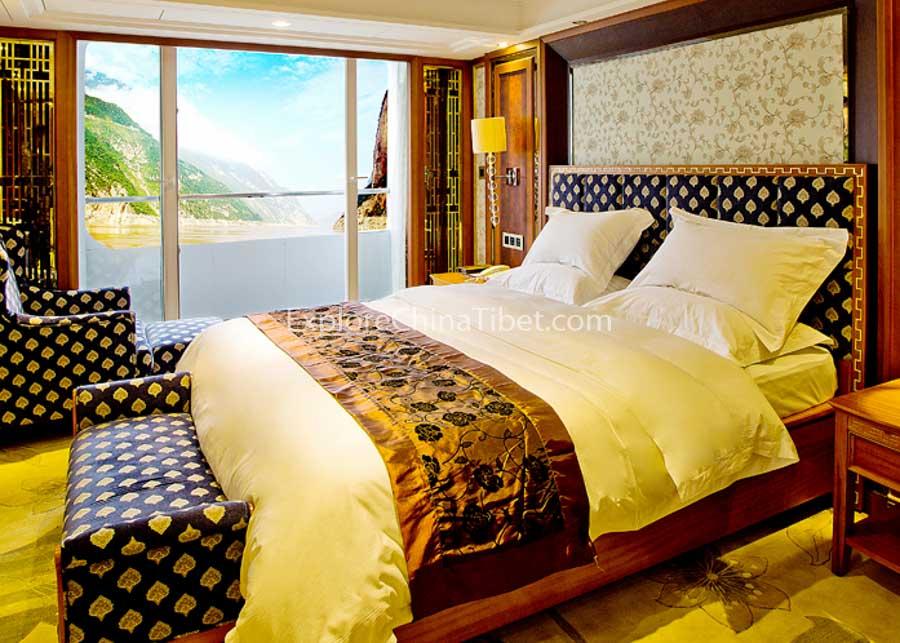 Yichang to Chongqing President No.7 Cruise Presidential Suite