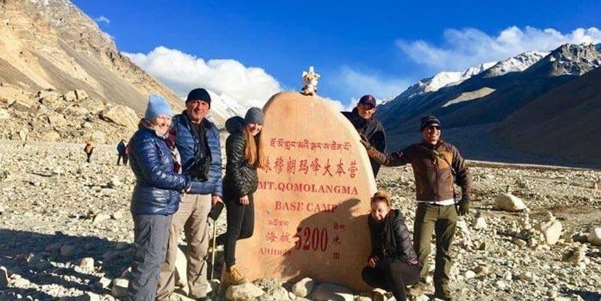 Tibet Everest Base Camp group tour