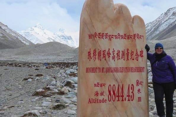 Tibet Norther Everest Base Camp from Rongphu Monastery