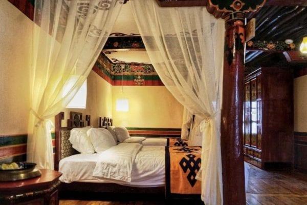 Lhasa Badacang Hotel Economy Twin Room