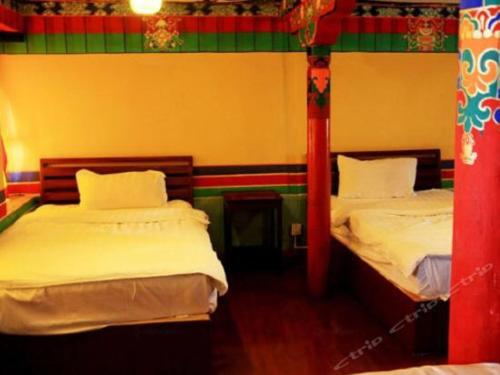 Lhasa Badacang Hotel Single Bed in 4-Bed Dormitory Room
