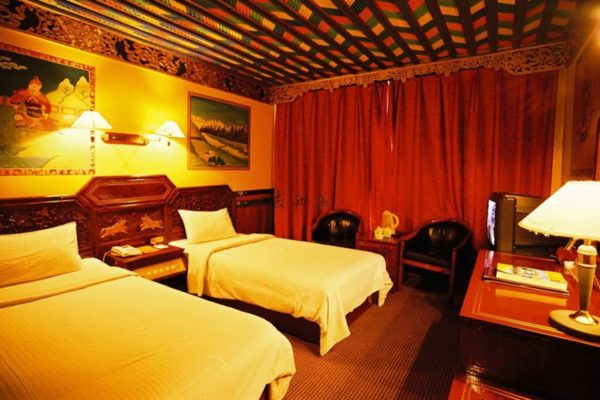 Yak Hotel VIP Building Twin Room