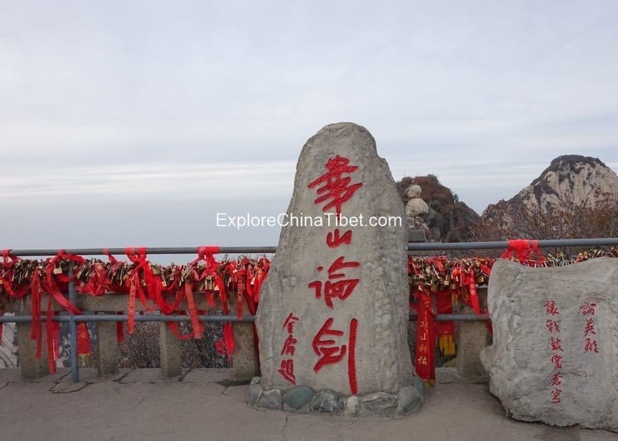 1 Day Mt. Huashan Tour by High-Speed Train-Mt. Huashan